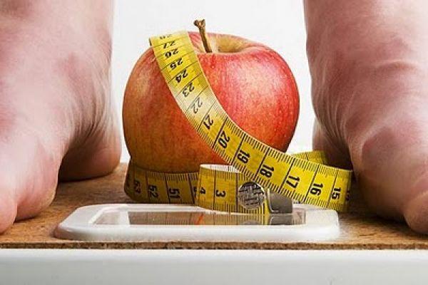 manzana con peso