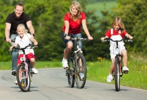 Fitness en familia