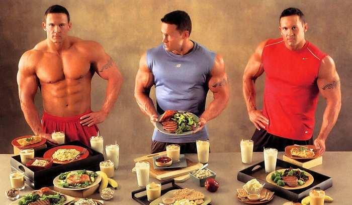 dietas de musculación
